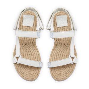 Tory Burch Flat Espadrille Bumper Sandals